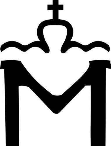 blattwerk-design Brandzeichen der Pferderassen Mecklenburg Vorpommern Warmblut M070 Schwarz