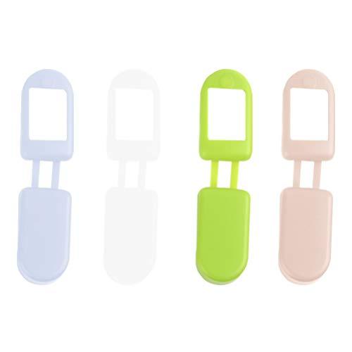 HEALLILY Funda protectora de silicona suave con pulso de dedo de 4 piezas