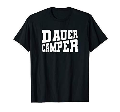 Dauercamper Wintercamper Wintercamping Wohnwagen Wohnmobik T-Shirt