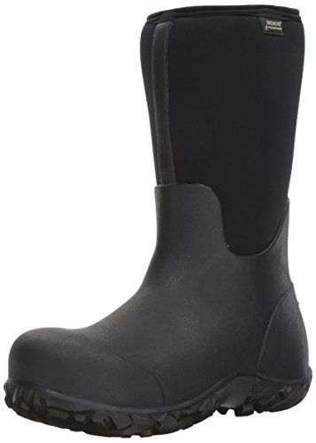 Bogs Men's Workman Composite Toe Boot, Black, 11 D(M) US