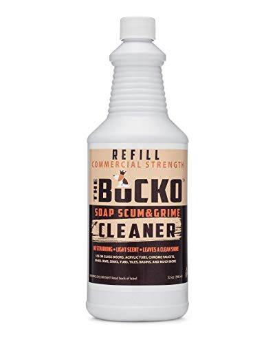 The Bucko Soap Scum and Grime Cleaner - 32oz Refill Bottle No Sprayer