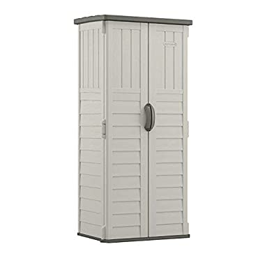 Suncast BMS1250, 22 cu. ft. Vertical Shed.