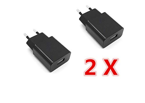 AptoFun 5V 2A Micro USB Alimentatore Caricatore per Arduino Uno, Nano Raspberry Pi 3.2 e Smart Phone, iPhone, Banca di Potere (2 Alimentatore)