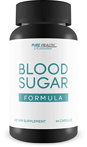 Blood Sugar Formula Improved - Turmeric & Berberine Hcl Blend - Balance Blood Sugar - Reduce Inflammation - Antioxidant Protection - Support Immune System - PureHealth Blood Sugar Formula
