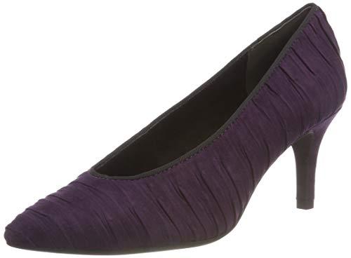 MARCO TOZZI Damen 22444-31 Pumps, Violett (Purple Comb 515), 38 EU