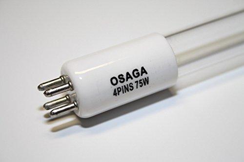 OSAGA UVC Ersatzlampe 75 Watt TL, G5 T5 UVC Brenner für Ihren Teichklärer