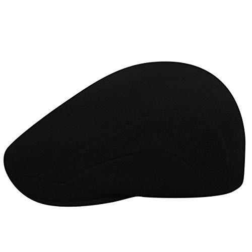 Kangol Wool 507, Casquette Souple Homme, Small, Noir (Black), Large
