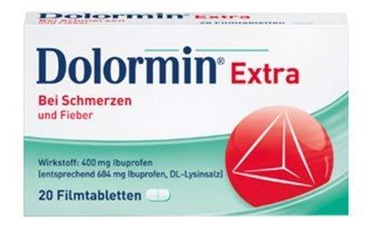 Dolormin extra Spar-Set 3x30 Filmtabletten. Einzunehmen bei leichten bis mäßig starken Schmerzen
