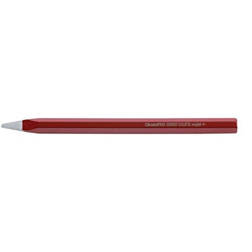 CircumPRO 4333097013186punta cincel de piedra, rojo/plateado, 350mm