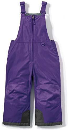 TSLA - overol de esquí para niño (resistente al viento, con aislamiento térmico), overol de nieve (Bko65), color morado, 3T (3Y)