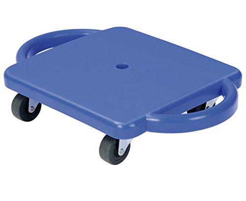 Betzold 33689 - Kinder-Rollbrett aus robustem Kunststoff mit Flüster-Rollen - Sport-Rollbrett Gleit-Rollbrett