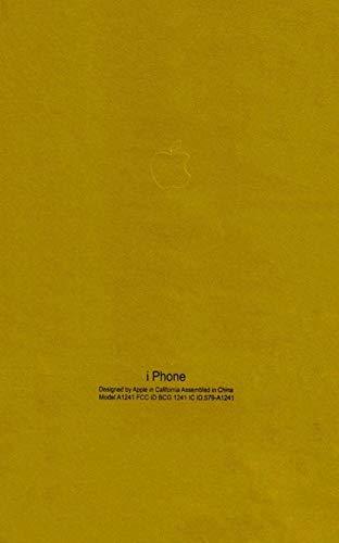 Orgic India Full Body Matte Gold Skin for iPhone & All Mobile Phones Get 1 Logo Free