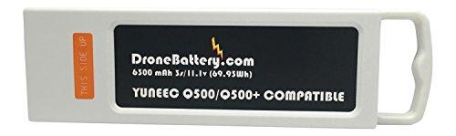 Yuneec Q500, Q500+, Q500 4K Upgrade Extended Battery (6300 mah)