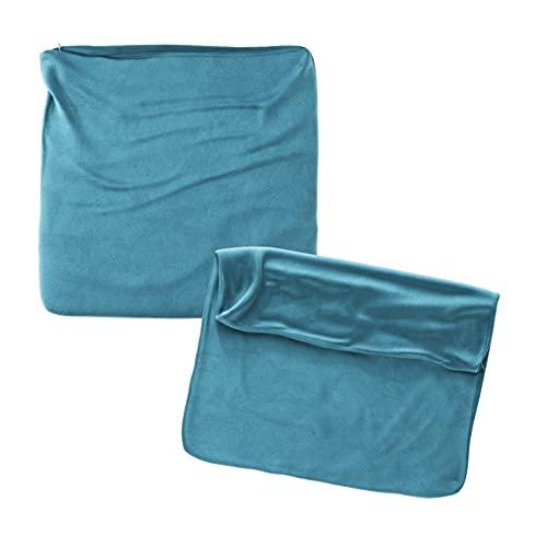 Cojines Sofa 45x45 Color Azul Pack de 2 Fundas de cojin Decorativos...