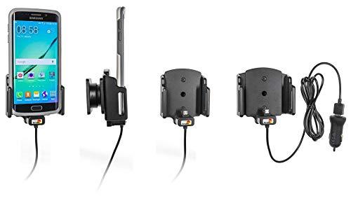 Brodit 521620 Gerätehalter aktiv auf USB inkl. KFZ-Ladeadapter für Universal Passend für Geräte mit oder ohne SchutzhülleBreite: 62-77 mm Stärke: 6-10 mm.