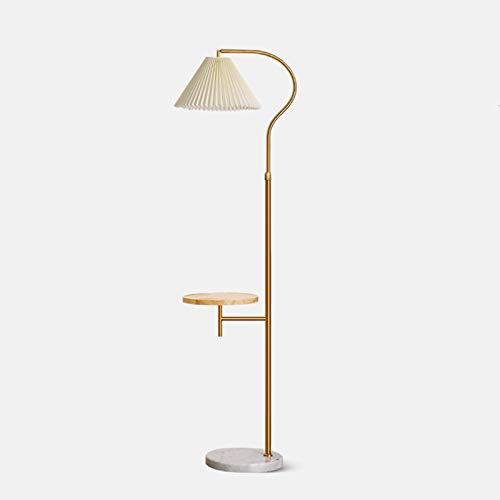 Lámparas de pie para salón Sala de estar Oficina BedroomBedside LampChildren's Room Night Lampfabric Lámpara Lámpara de pie de metal industrial Lámpara de lectura de protección ocular adecuada en el s