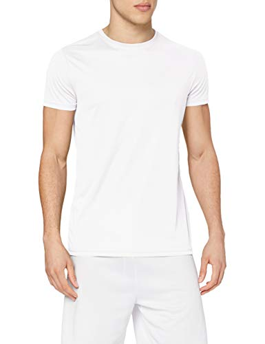 Stedman Apparel Active Sports-T/ST8000 T-Shirt, Blanc, L Homme