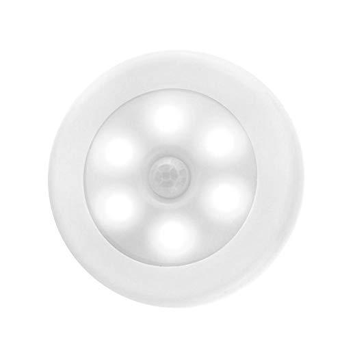 JBNS -Bewegungs-Sensor-Nachtlicht, Kabinett-Beleuchtung Batteriebetriebene Wireless Lighting-Nachtlicht-Stick mit Free 3M Klebeplättchen für Treppen (weiß)