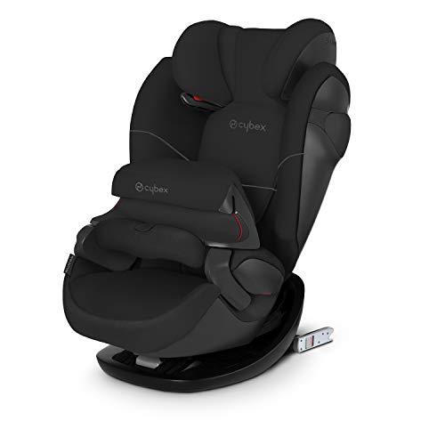 CYBEX Silver 2-in-1 Kinder-Autositz Pallas M-Fix, Für Autos mit und ohne ISOFIX, Gruppe 1/2/3 (9-36 kg), Ab ca. 9 Monaten bis ca. 12 Jahren, Pure Black