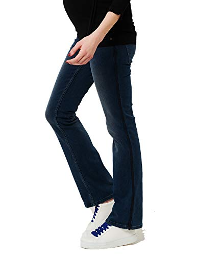 ESPRIT Maternity Damen Umstands Jeans Pants Denim OTB Bootcut (34 (Herstellergröße: 34), Medium Wash (960))