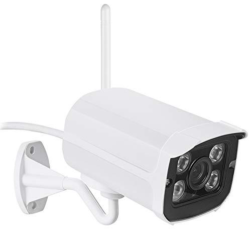 Metal impermeable IP66 IP Cámara IP WiFi conectada 720p 1.0MP con ranura para tarjeta SD ONVIF YOOSEE P2P Cámara de vigilancia de Visión Nocturna Cámara IP con foco cámaras de seguridad sistemas de se