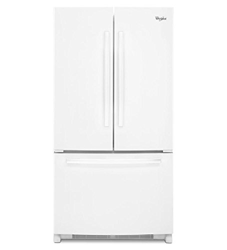 Whirlpool WRF540CWBW 19.6 Cu. Ft. White French Door Refrigerator
