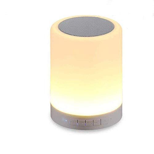 Kepeak Bluetooth Speaker Lamp, Smart Touch Control Dimmerabile Lampada a colori per camera da letto Sleeping Aid, miglior regalo per bambini, ragazzi e adulti