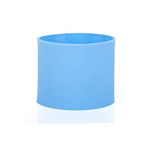 Fliyeong - Funda protectora de silicona antideslizante para botella de cristal, resistente al calor, antiquemaduras, duradera y útil