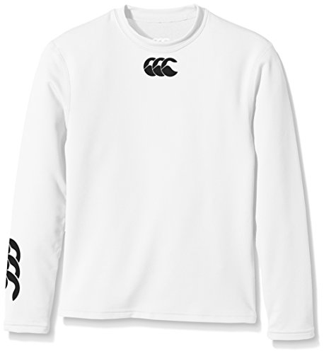 Canterbury Boys Baselayer Cold Long Sleeve Top Small White