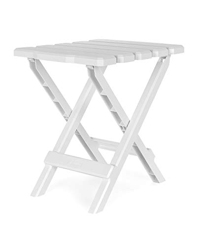Camco Adirondack Portable Outdoor Folding Side Table
