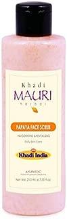 Khadi Mauri Herbal Papaya Face Scrub - 210 ml