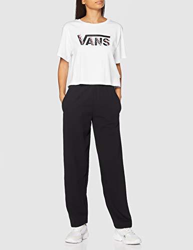 Vans BUNDLEZ Bell Tee T-Shirt, Bianco, M Donna