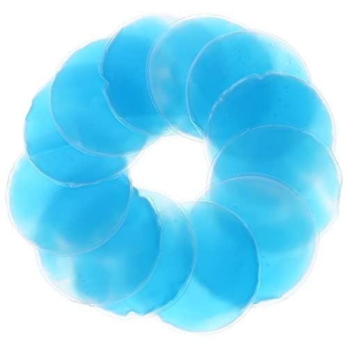 DOITOOL 12 Paquetes de Hielo con Cuentas de Gel Reutilizables para Heridas Tratamiento en Frío Bolsa con Cuentas Pequeña Atlética Almohadilla de Enfriamiento para El Dolor Hombre