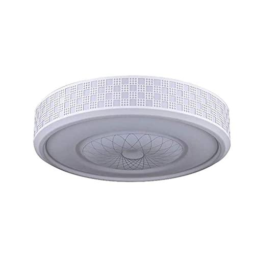 HUAQINEI Flush Mount Ceiling Light LED 3 Colors Adjustable for Bedroom Study Living Room Kitchen Office