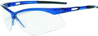TRUSCO(トラスコ) 二眼型安全メガネ(フレーム青色)