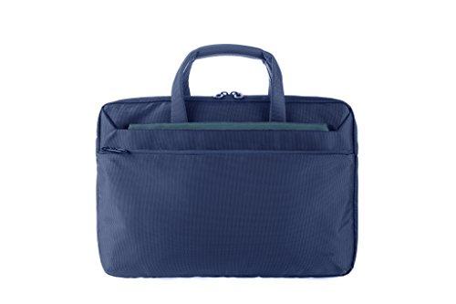 Tucano WorkOut3 SLIM Laptoptas schoudertas aktetas voor MacBook Air 13 blauw