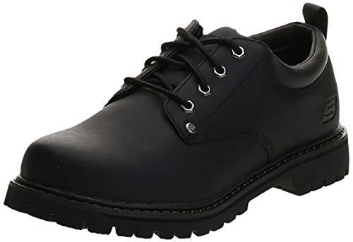 Skechers Men's Tom Cats Utility Shoe, Black, 11 M US