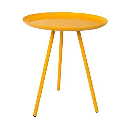 Felis Lifestyle 2300077 Tavolino, Metallo, Giallo, 39 x 39 x 45 cm