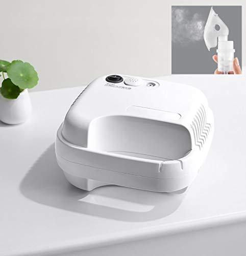 AZJ-AJR Inicio Médico Ajustable Nebulizador Inhalador Máquina Niño Adulto alergia respiratoria Alivio Aerosol Terapia de Medicamentos,Blanco