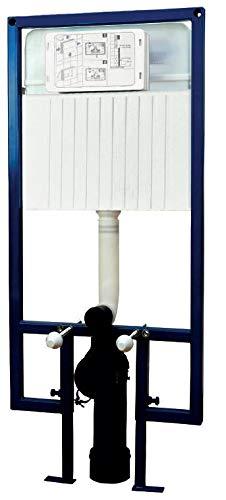 Calmwaters® - WC-Vorwandelement für Trockenbau mit Unterputz-Spülkasten mit 2-Mengen-Spülung für Wand-WCs - 36AD3159