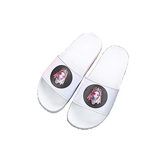 Dickbesohlte Shower Slippers, Light Soft Summer Unisex Slippers for Bath...