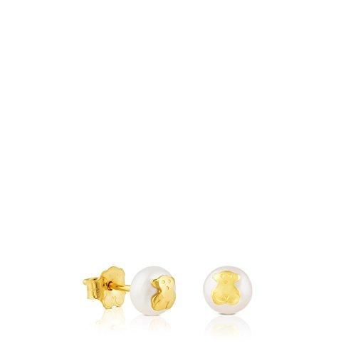 TOUS Pendientes de botón Mujer oro amarillo - 611003200