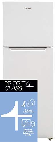 Sauber - Frigorífico Dos Puertas SERIE 5-170B Tecnología NOFROST - 170x60cm - F - Color Blanco - ENTREGA EN DOMICILIO