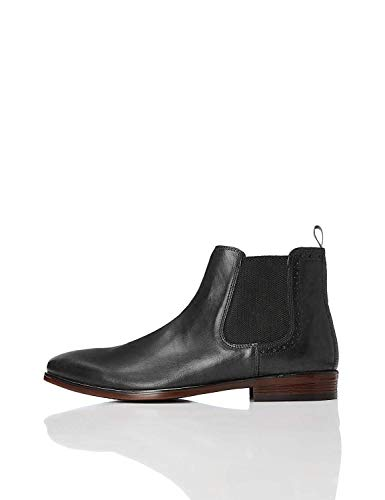 find. #_Marin Stivali Chelsea Men's, Nero (Black), 44 EU (10 UK)