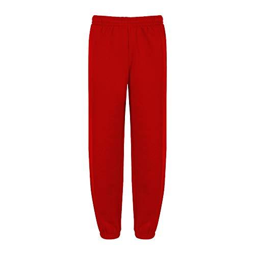 Trutex Limited Jogging - Pantalon de sport - Uni - Rouge (Scarlet) - FR : 11 ans (Taille fabricant : XX-Small)