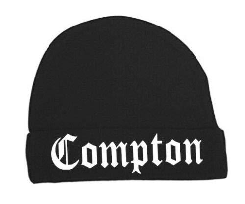StickerStop Baby muts Compton 0-3 maanden zwart