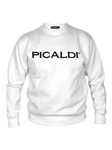 Picaldi Sweatshirt | Kollektion 2020 | Schwarz | Weiss | Weinrot | Blau | Grau, Farbe: Weiß, Größe: M