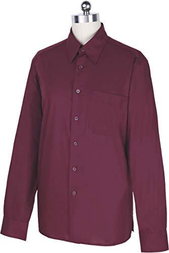 nobranded Camisa Granate Manga Larga