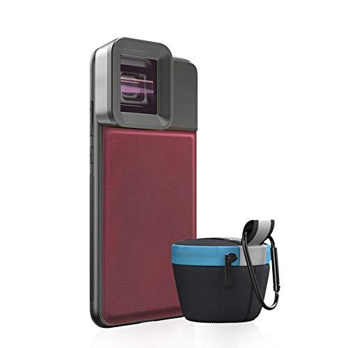 Lente anamórfica de Momento Lente 1.33x Pantalla Ancha Video Widescreen SLR Película Lente de teléfono móvil para iPhone Huawei Samsung Smartphones, L0 (foriPhoneX)