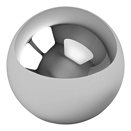 TOP 100 PCS Precision Stainless Steel 18/8 (A2) Bearing Balls, Diameter: 0.12 inch/3 mm